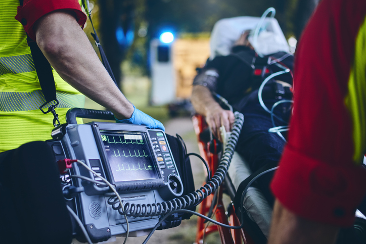Paramedic career training